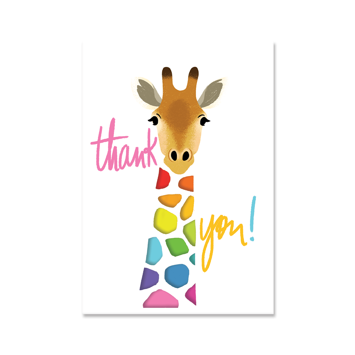 Thank You Giraffe Boxed Cards Molly Amp Rex