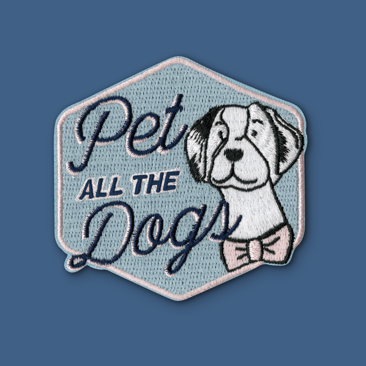 Pet All The Dogs Patch