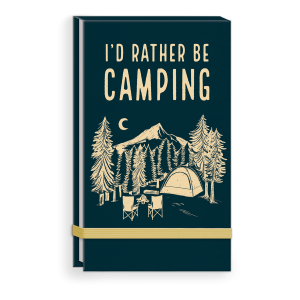 I'd Rather Be Camping Linen Top Bound List Pad Product
