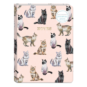 Cat Pattern Softcover Journal Product