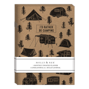I'd Rather Be Camping Kraft Notebook Trio Product