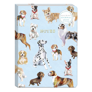 Dog Breed Pattern Softcover Journal Product