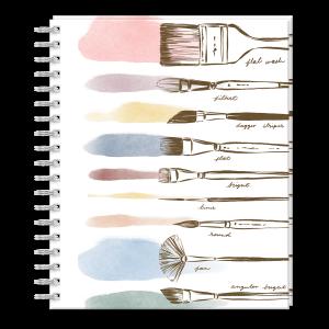 Brush Strokes Sketchbook Product