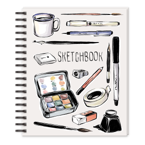 Drawing Tools Sketchbook Product