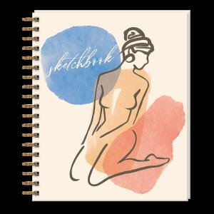 Line Figure Sketchbook Product