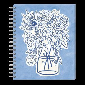 Blue Vase Sketchbook Product